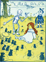 Wizard of Oz Dorothy Scarecrow Tin Woodman Clip Art image
