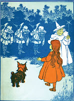 Wizard of Oz witch of the north ClipArt Image