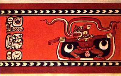 Mayan Vampire Headed Deity