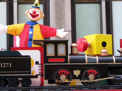 Jack in the Box and Toy Train