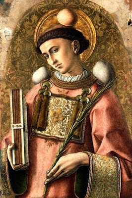 Saint Stephen by Carlo Crivelli