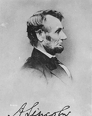 Photograph of President Abraham Lincoln