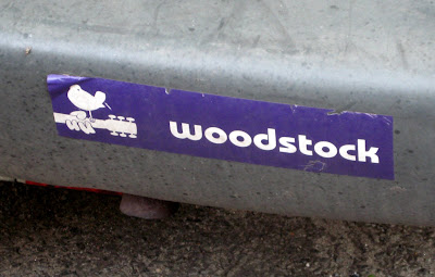 Woodstock Bumper Sticker