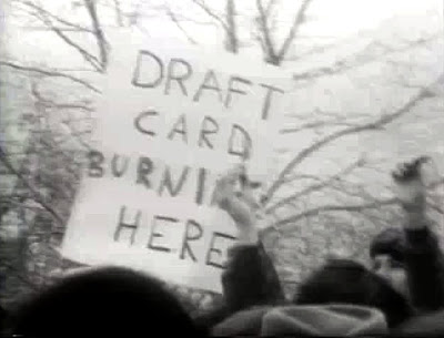 Draft Card Burning Here