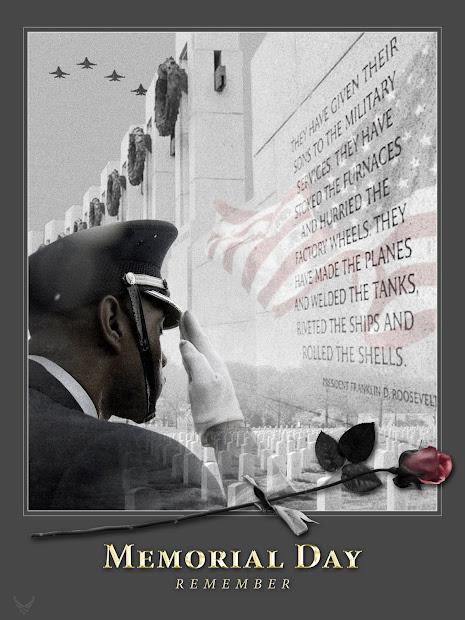 Memorial Day Remember Public Domain Clip Art