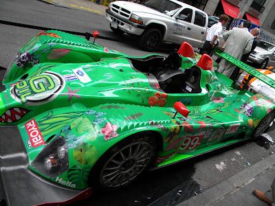 Green Hybrid Race Car