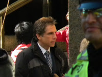 ben stiller filming universal studios tower heist at 61st and columbus nyc