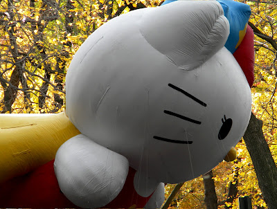 Hello Kitty Balloon Macy's Thanksgiving Day Parade