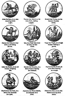 Humorous Signs of the Zodiac