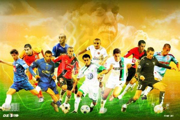 Algerie footbal - Vainqueur coupe du monde 2010 ...