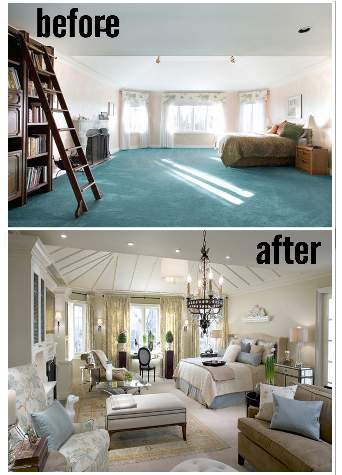 Master Bedroom Makeover After: Amazing Master Bedrooms By Candice Olson: Before And