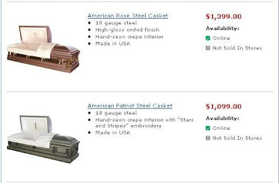 The Pictures Blog of Mr  MaLao's: Walmart Sales Coffins