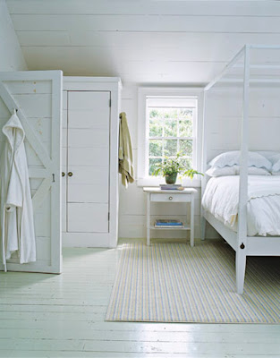 white cottage bedroom