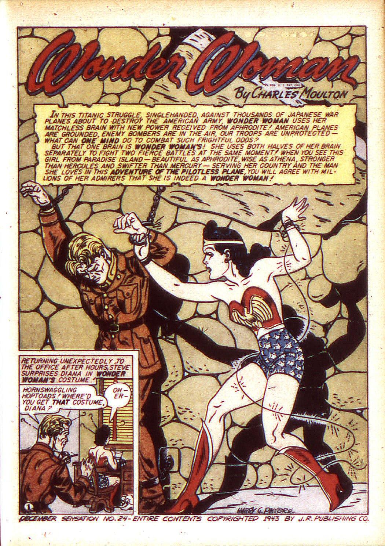 Read online Sensation (Mystery) Comics comic -  Issue #24 - 3