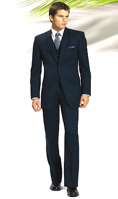 Ballcaps And Neckties Navy Blue Suits And Black Shoes