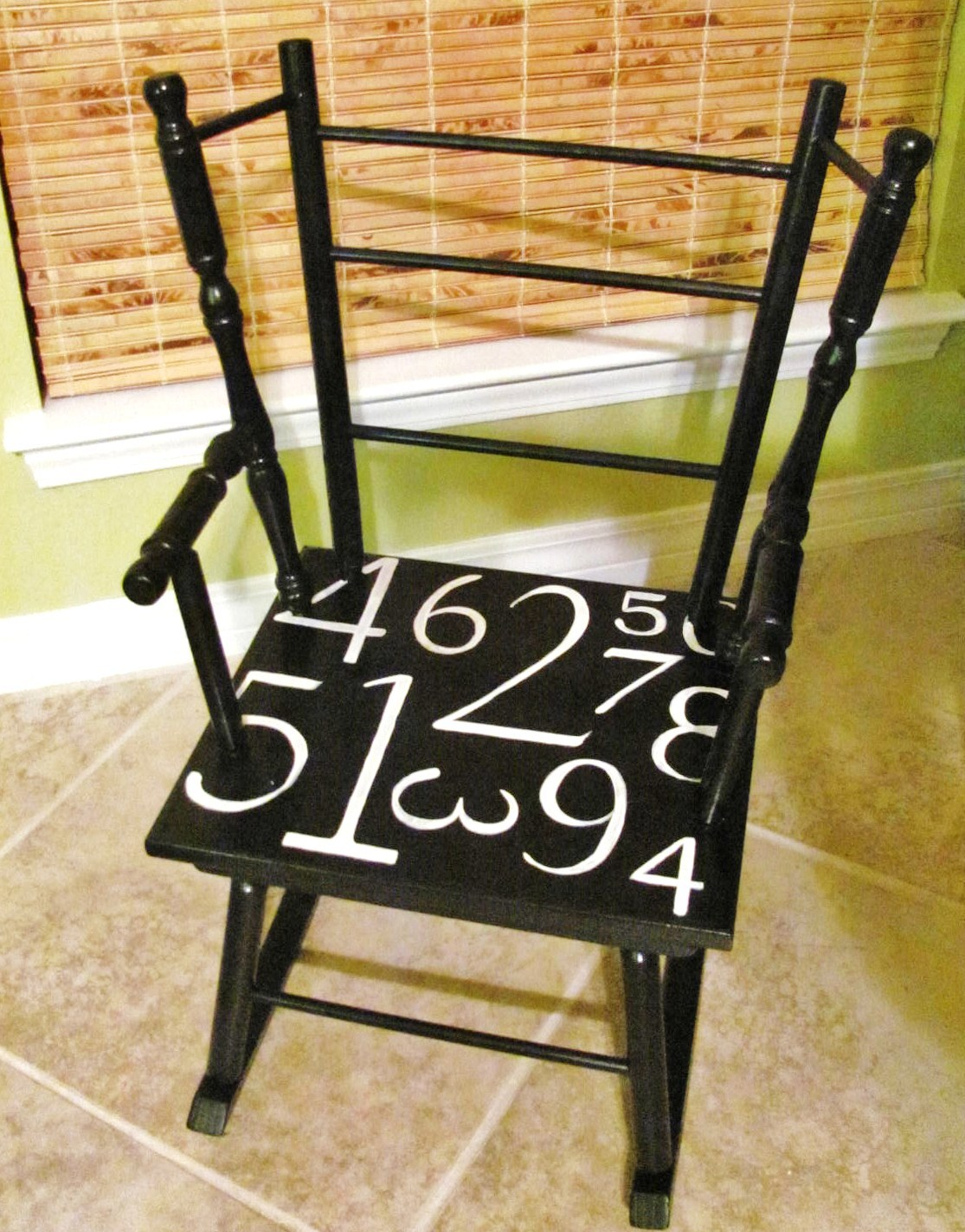 Hand Painted Child S Rocker Lucy Designs
