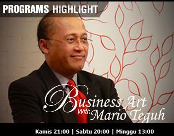Mario Teguh Business Art