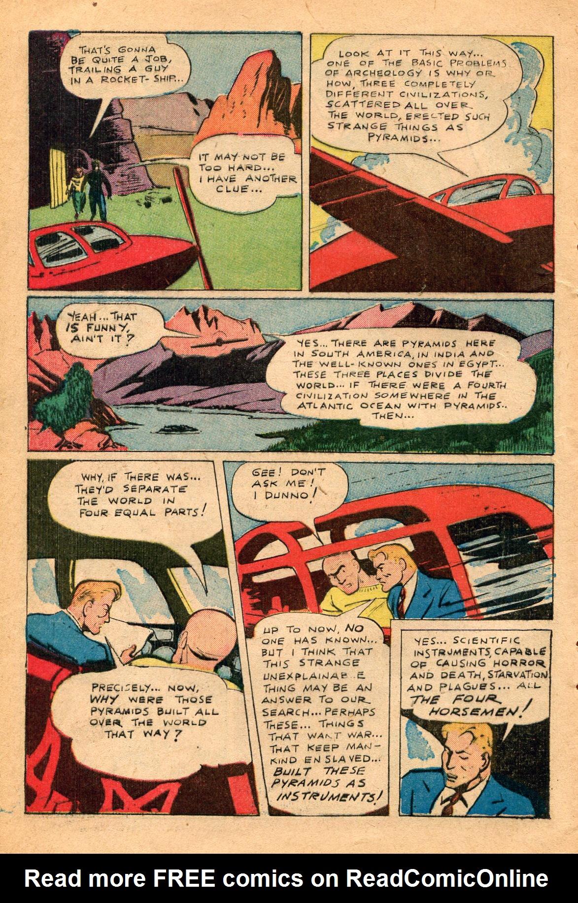 Read online Shadow Comics comic -  Issue #60 - 38