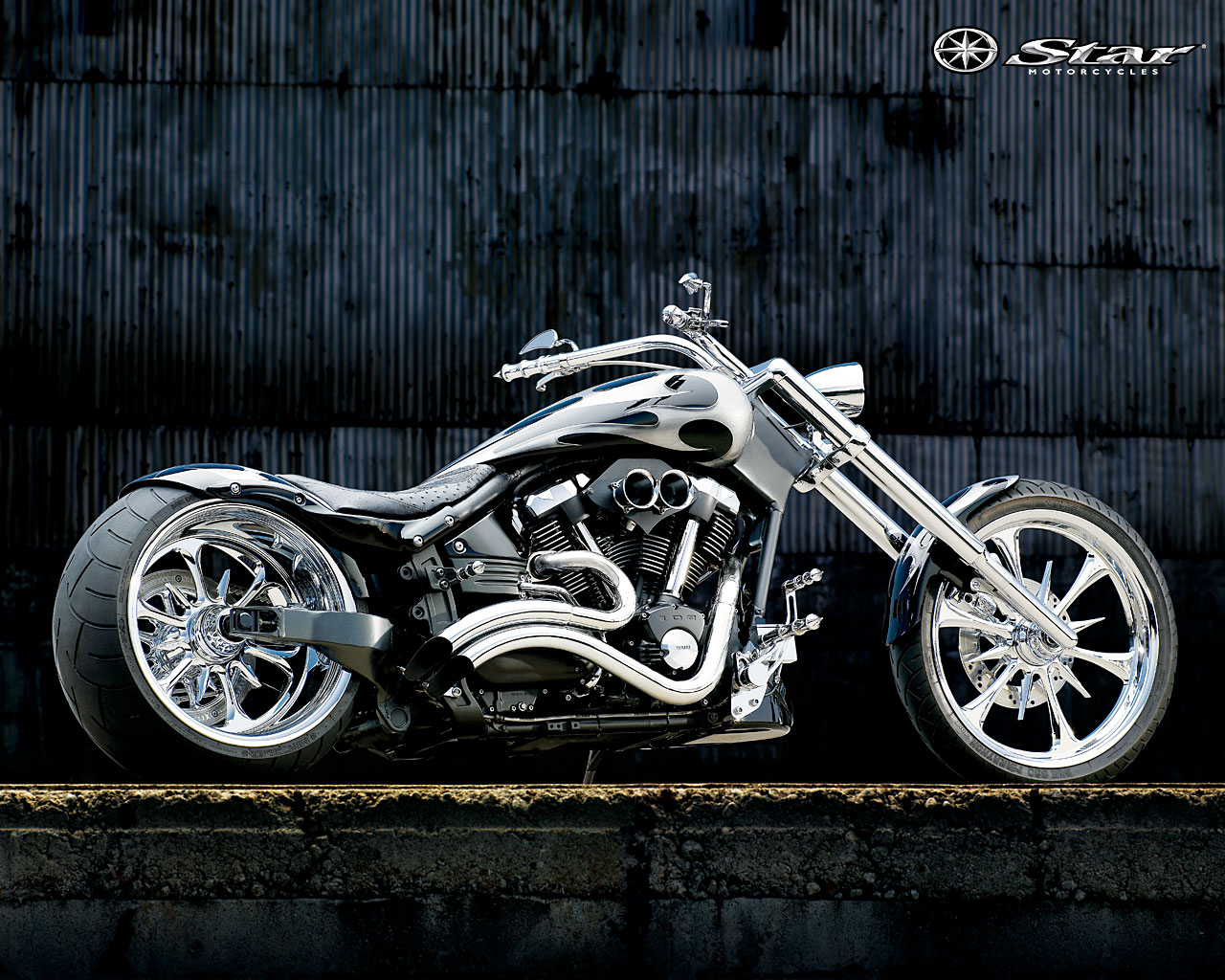 Cool Desktop Wallpaper: Chopper Bikes Desktop Wallpapers