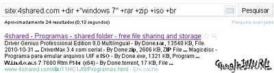 Pesquisa google hacking