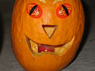 Freaky Eyes Pumpkin