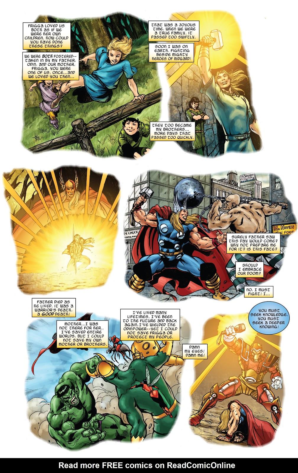 Read online Thor: Ragnaroks comic -  Issue # TPB (Part 3) - 16