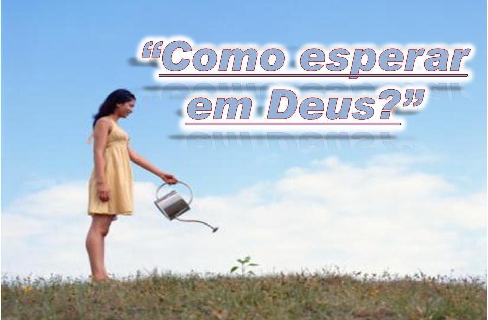 Eterno Devedor Esperar Em Deus