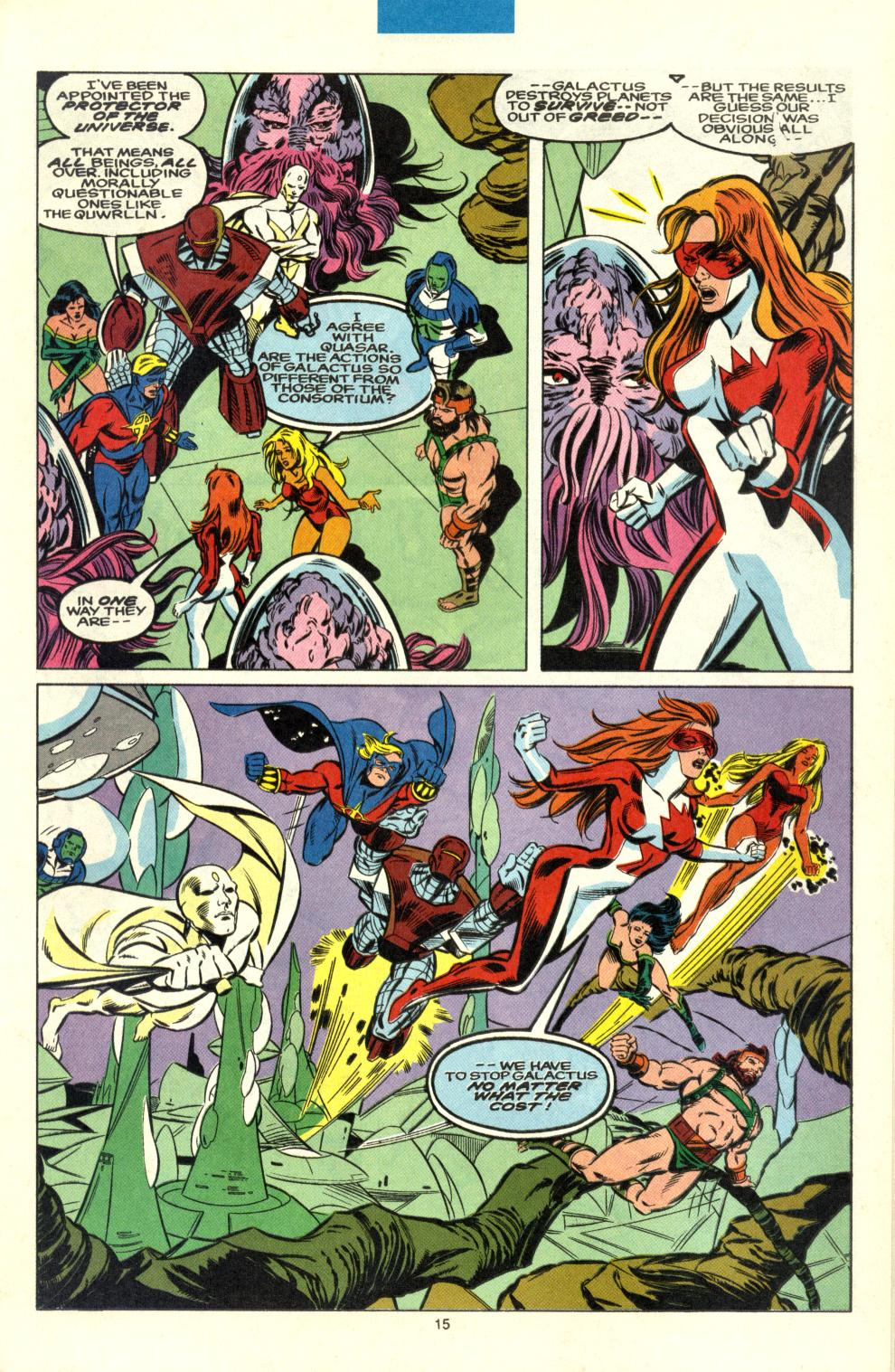 Read online Alpha Flight (1983) comic -  Issue #100 - 12
