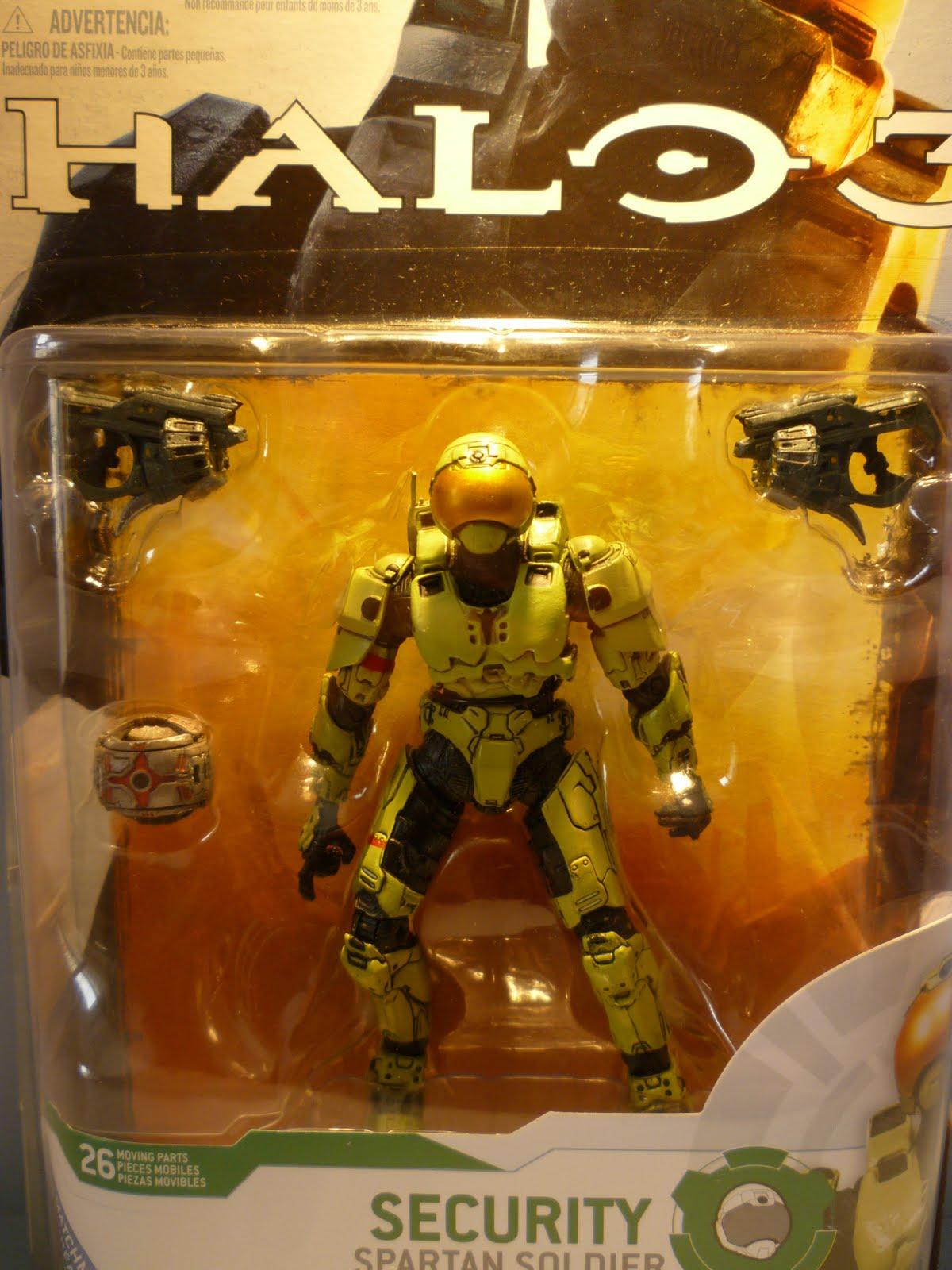 Kurobara: halo 3 security spartan soldier action figure