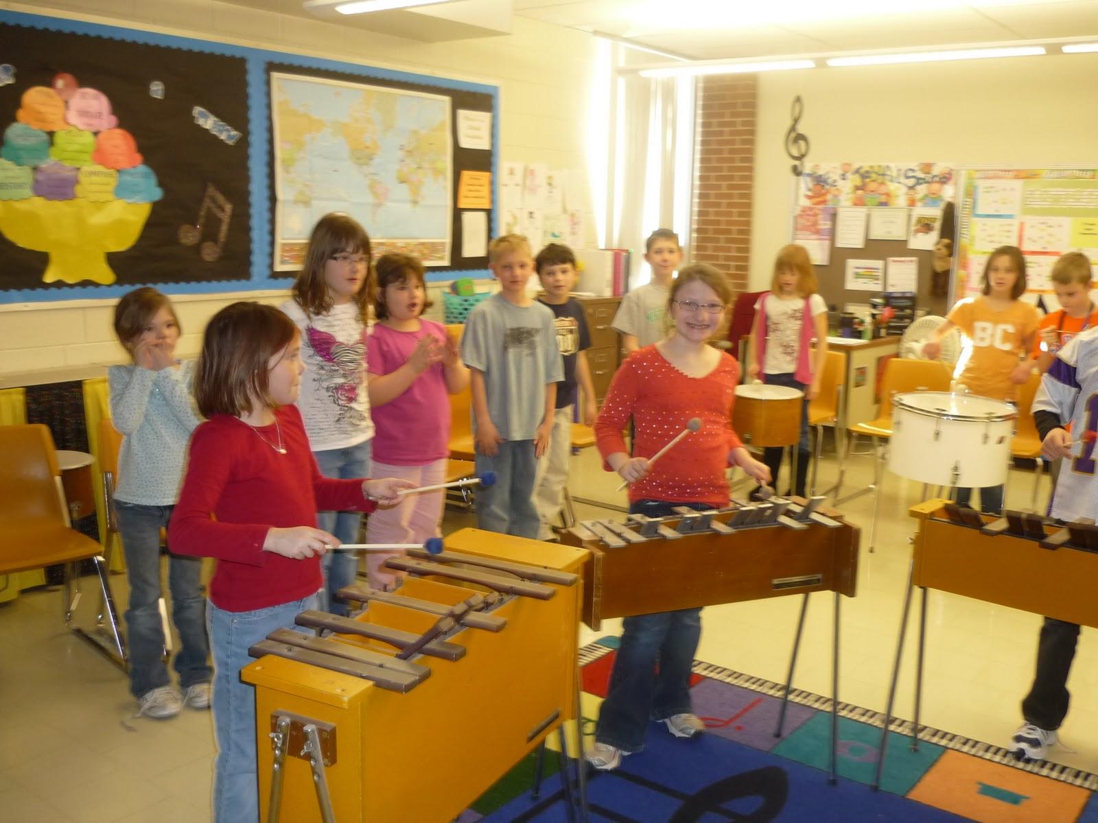 Mrs Mattson S Music Room February