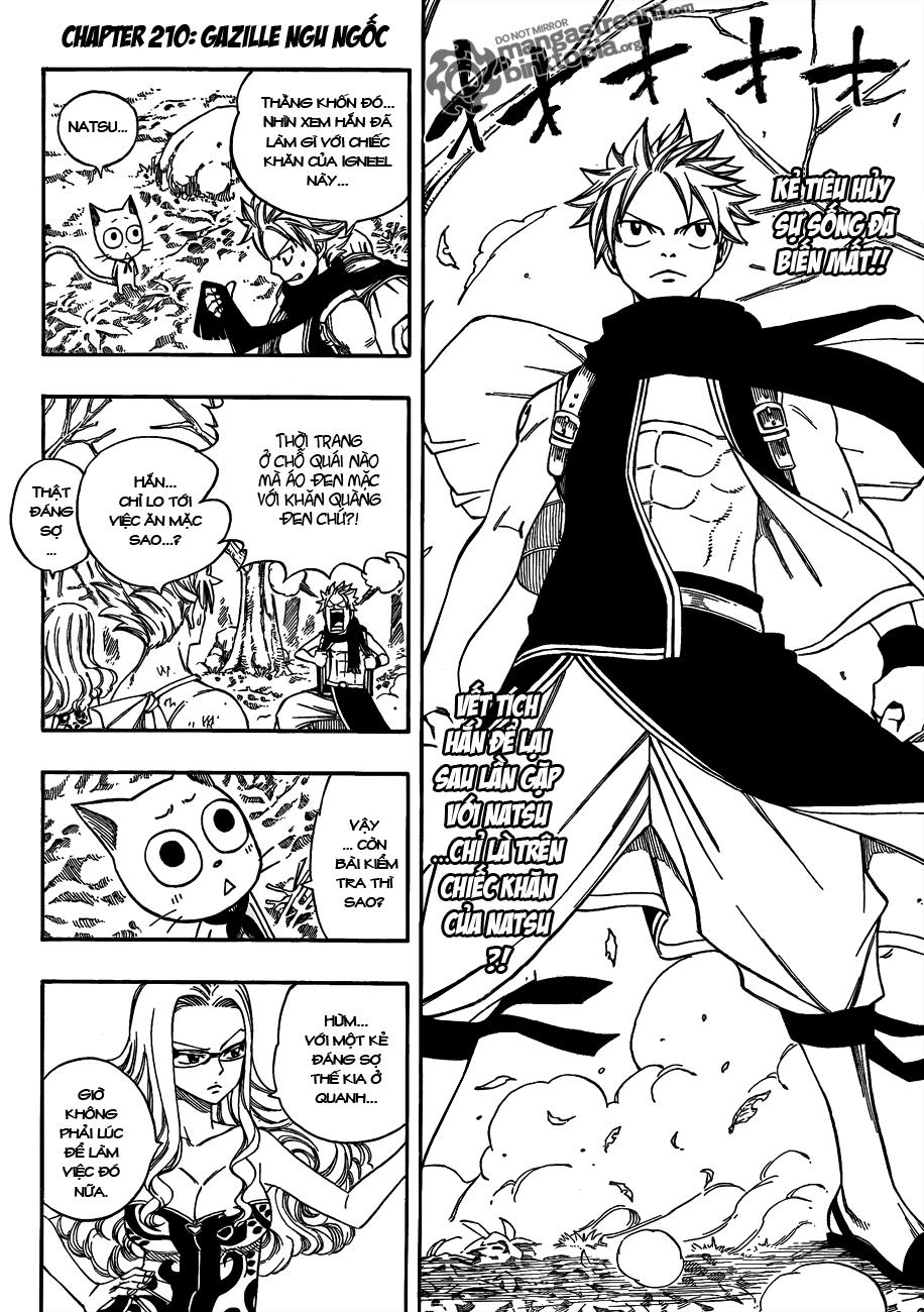 Fairy Tail chap 210 trang 2