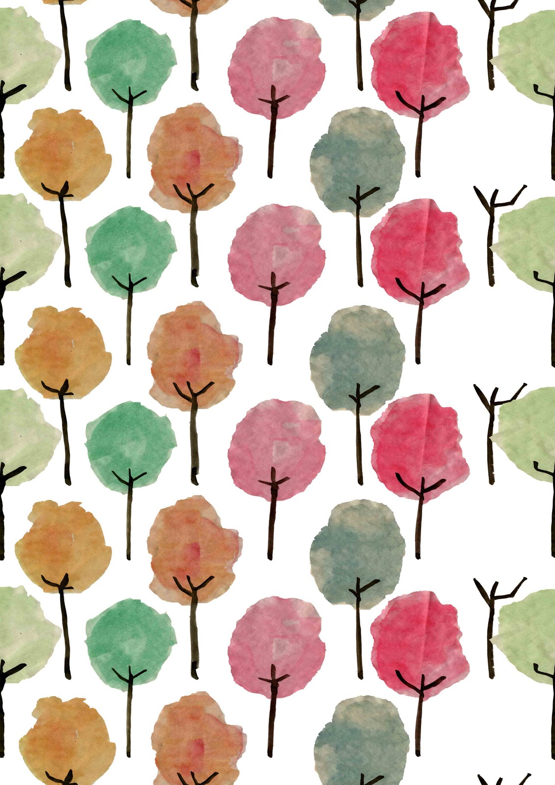 Pattern For A Tree