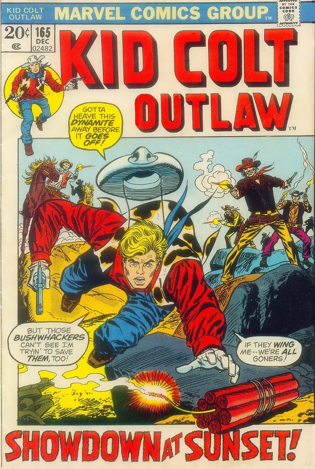 Kid Colt Outlaw issue 165 - Page 1