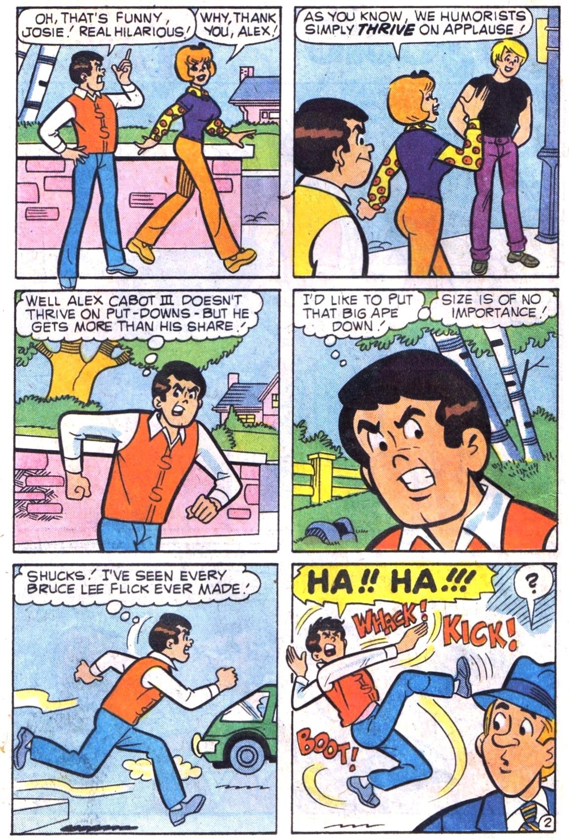 Read online She's Josie comic -  Issue #103 - 14