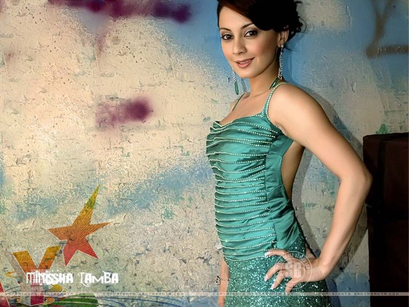 Bollywood Fan Minissha Lamba Hot Wallpapers Hot Bikini -3335