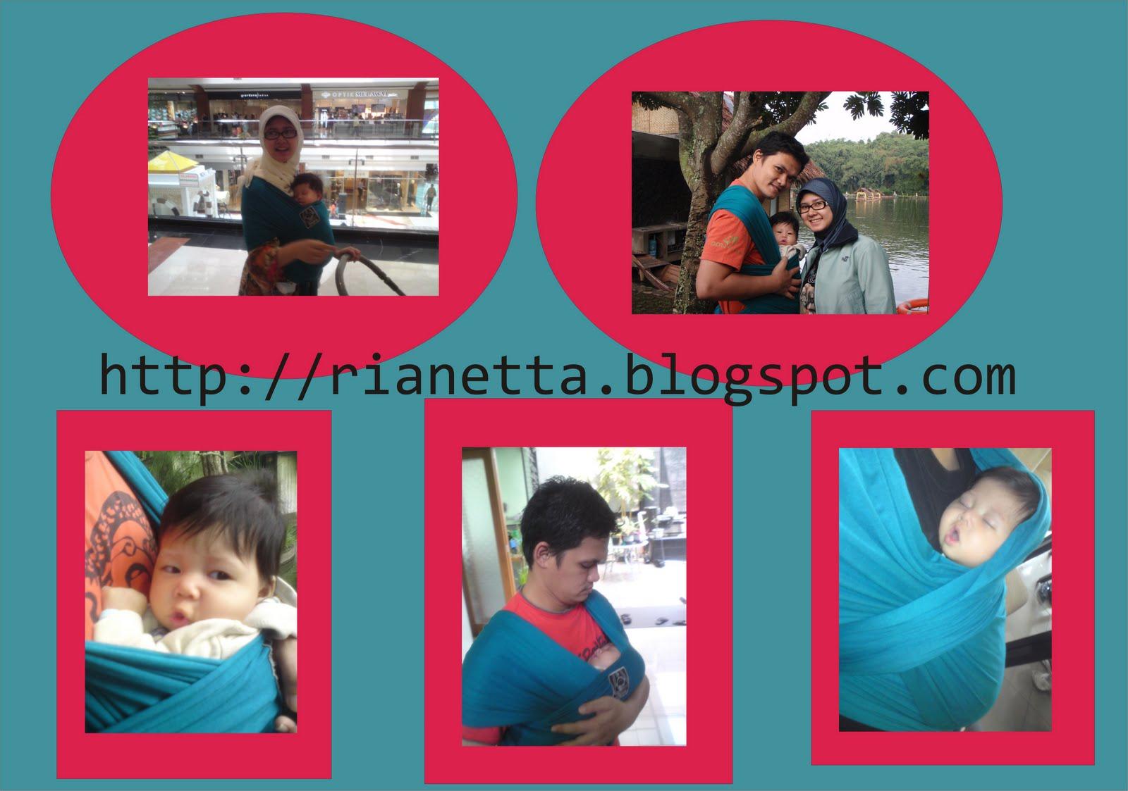 Perjalanan Keluarga Febrian Hanaroo Baby Wrap
