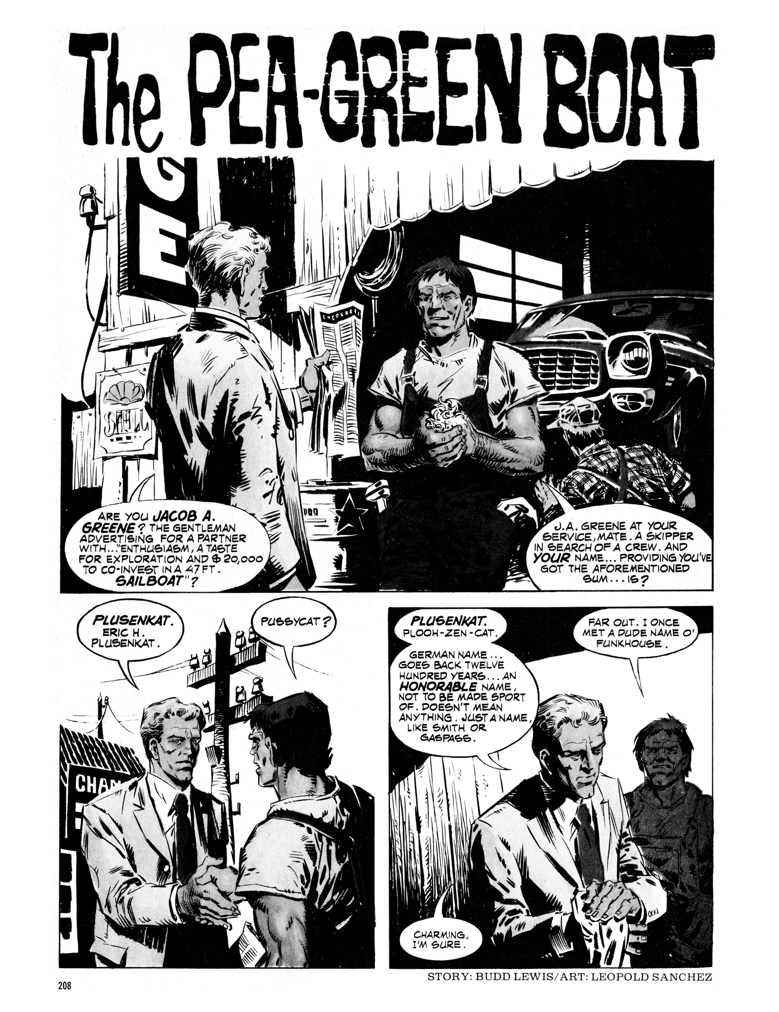 Read online Eerie Archives comic -  Issue # TPB 16 - 209
