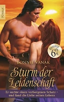 German cover for The Panther and the Pyramid by Bonnie Vanak