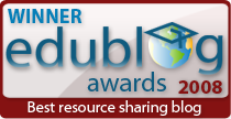 Edublog Awards: The  Best 16 Eddies
