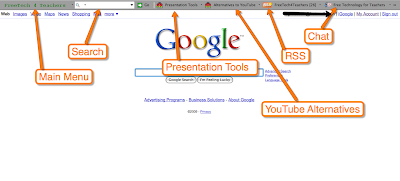 Free Technology for Teachers: Build Your Own Browser Toolbar