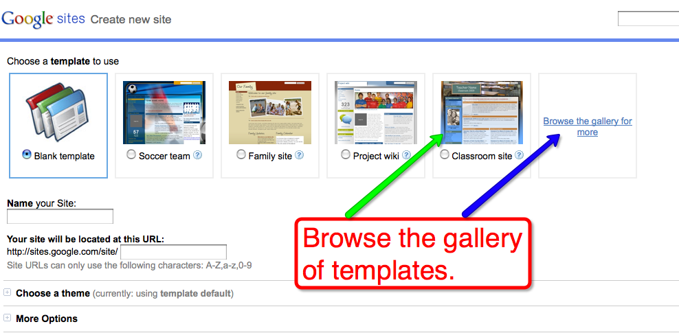 Free Technology for Teachers: Google Sites Adds Templates, Adds ...