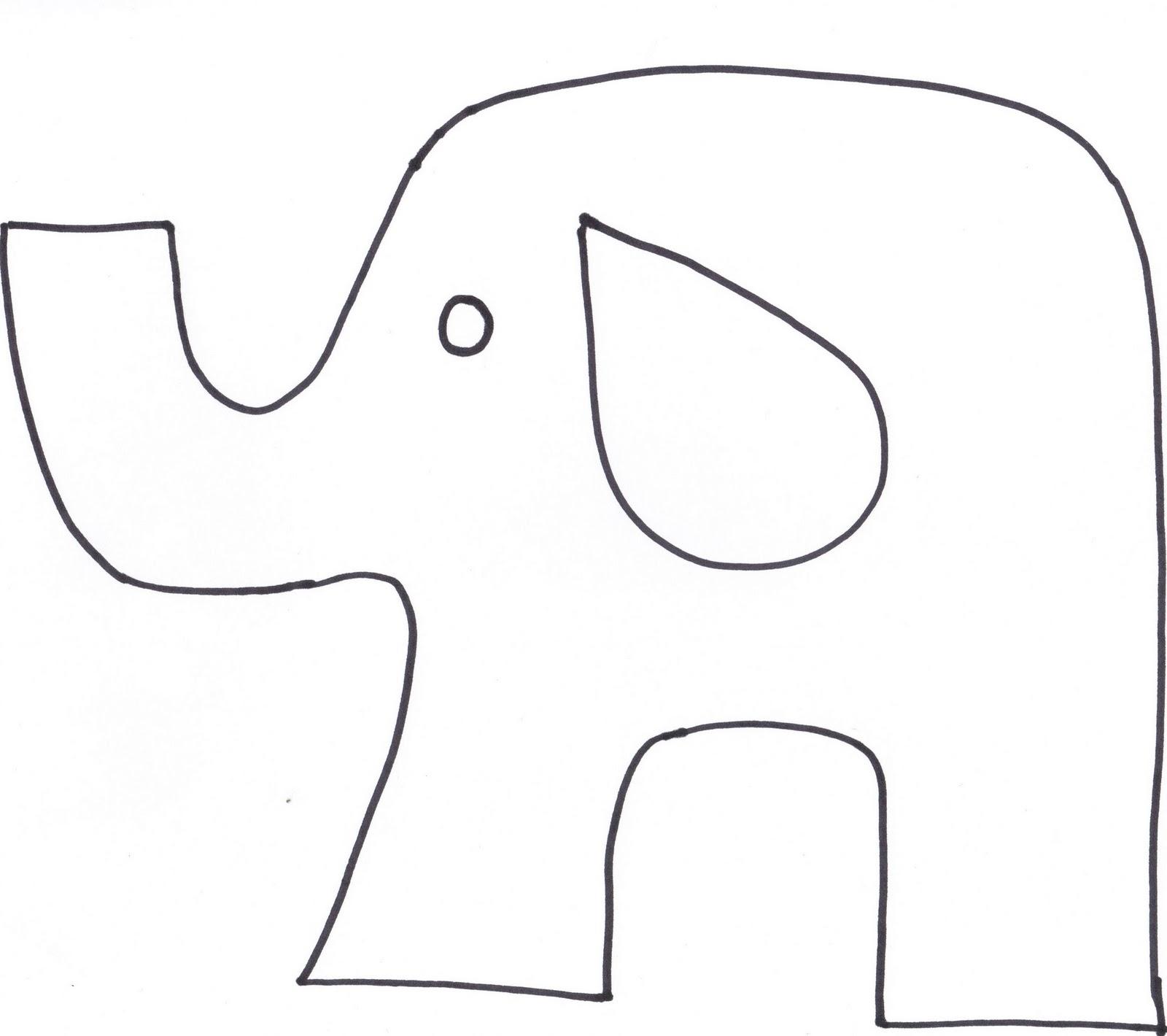 little bean workshop  elephant softy party favors tutorial