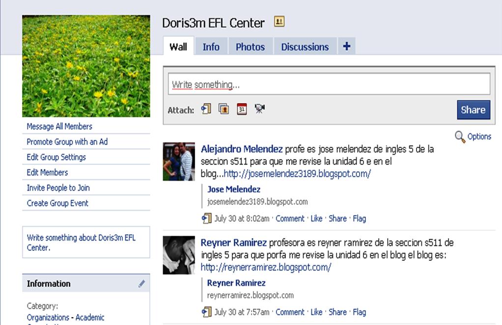 Doris 3m EFL Center: Avemos a group in Facebook!!!!