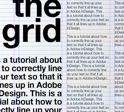 design context,: Type, Grids and LAyout,