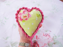 Fabric and Crochet Heart Tutorial: Part 3