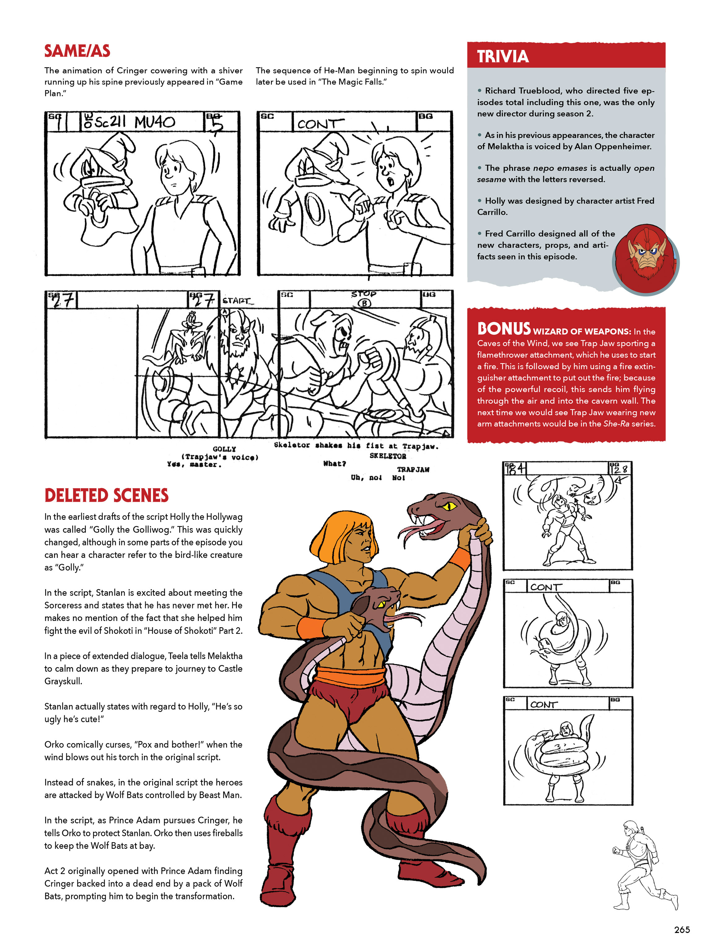 Read online He-Man and She-Ra: A Complete Guide to the Classic Animated Adventures comic -  Issue # TPB (Part 2) - 66