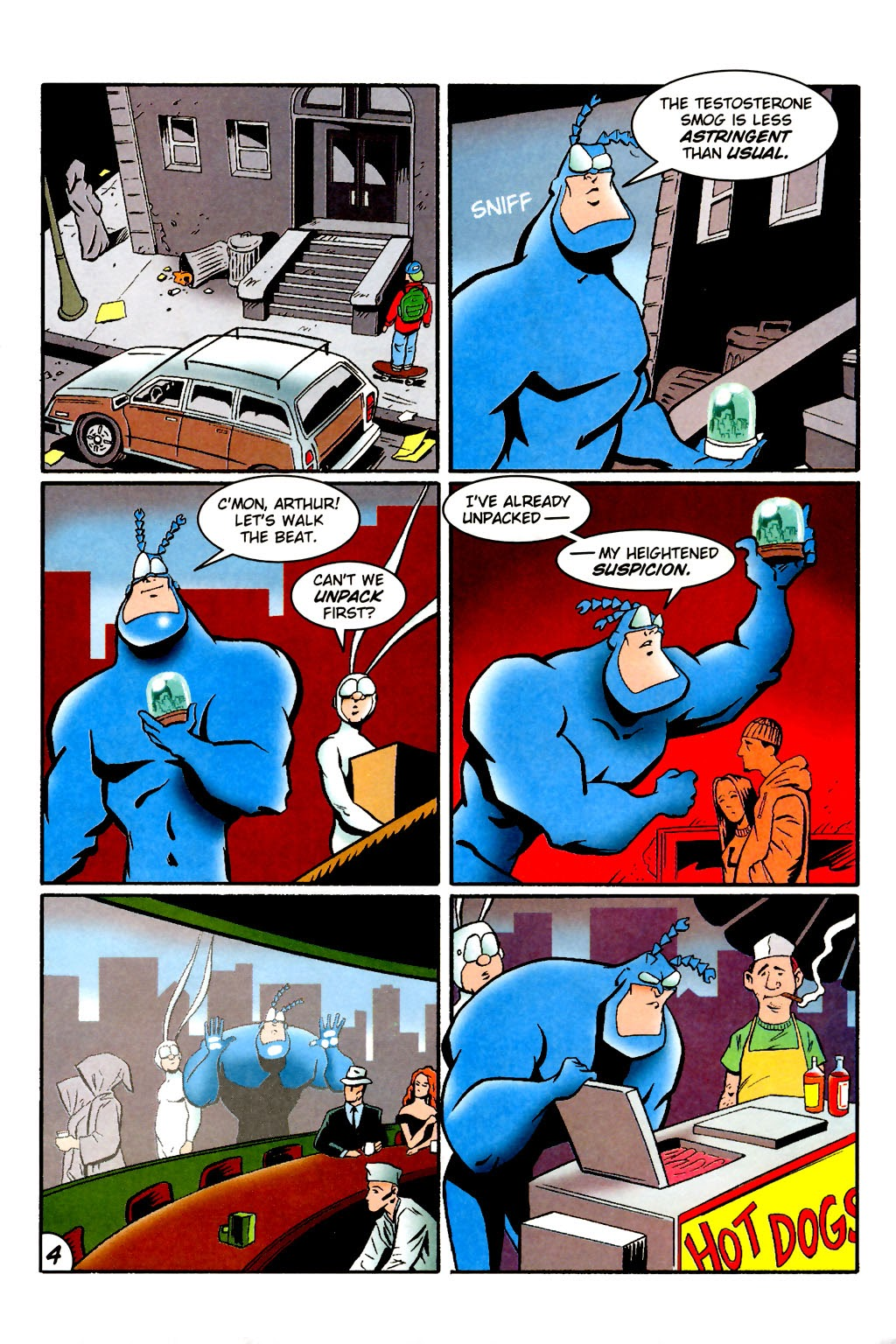 Read online The Tick: Days of Drama comic -  Issue #1 - 8