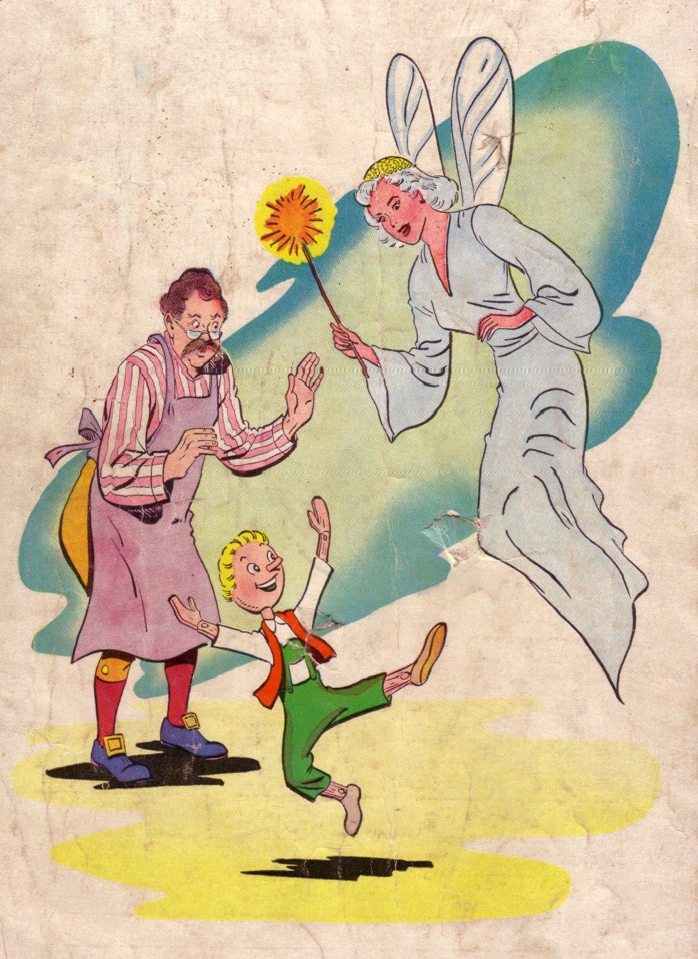 Classics Illustrated Junior 513 Page 36