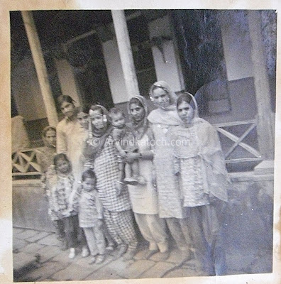 Himachali, Traditional, Marriage, Pictures, Old, Black and White