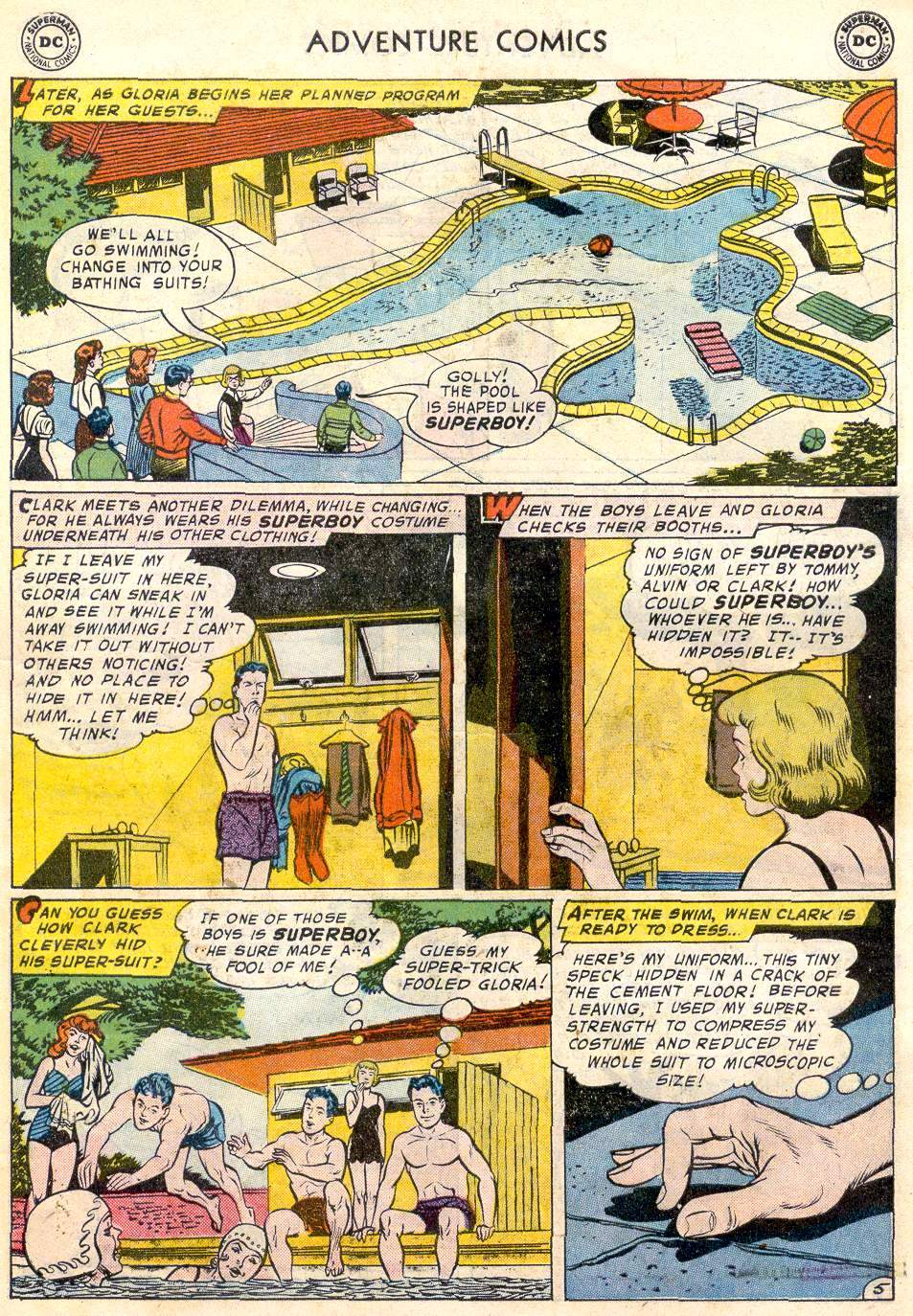 Read online Adventure Comics (1938) comic -  Issue #246 - 7